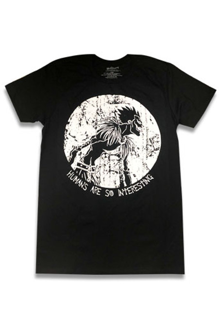 Death Note - Ryuk Quote Humans Are So Interesting T-Shirt
