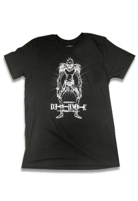 Death Note - Outline Of Ryuk Standing T-Shirt