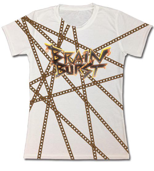 Accel World - Brain Burst In Chains Juniors T-Shirt