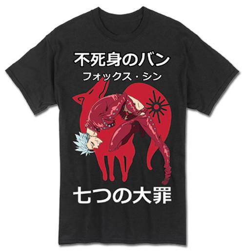 Seven Deadly Sins Fox Sin Ban T-Shirt