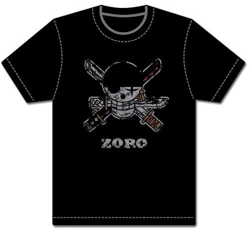 One Piece - Zoro's Jolly Roger T-Shirt