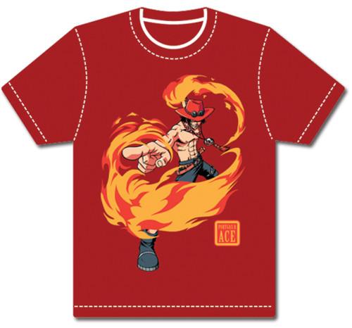 One Piece - Fire Ace T-Shirt