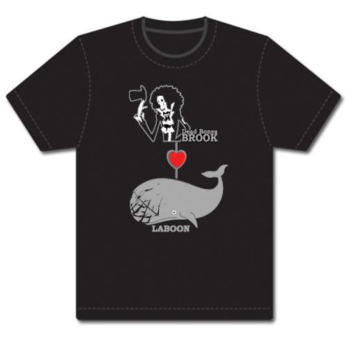 One Piece - Dead Bones Brook Loves Laboon T-Shirt