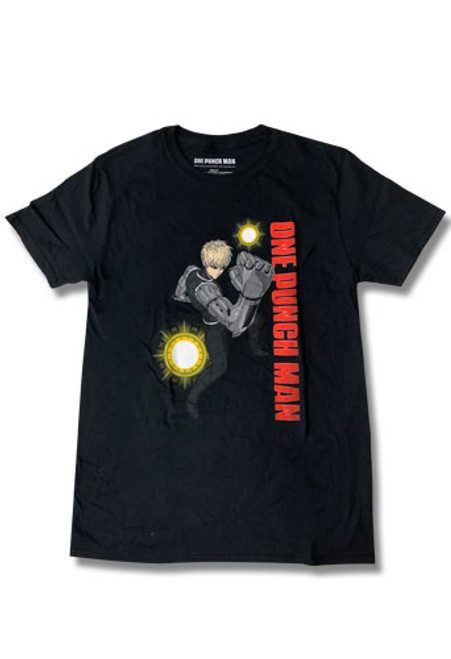 One Punch Man - Genos In Fighting Pose T-Shirt