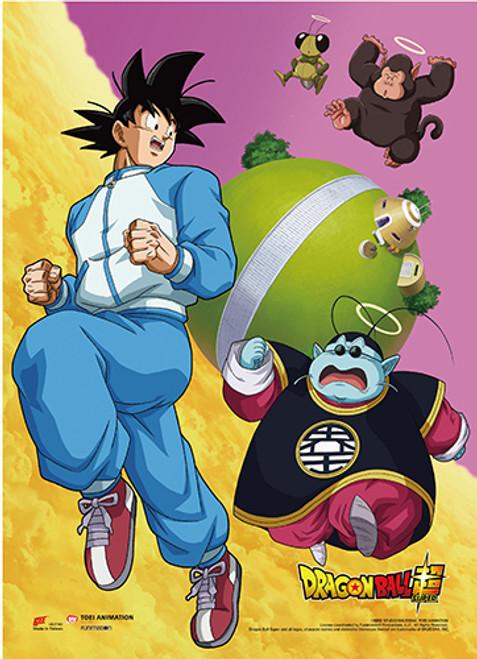 Dragon Ball Super Battle Of The Gods - Goku Running From Ball Wall Scroll