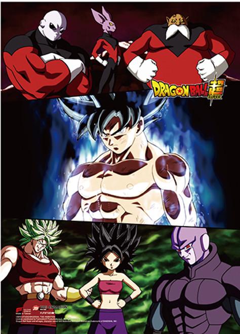 Dragon Ball Super - Goku Framed By Villains Wall Scroll
