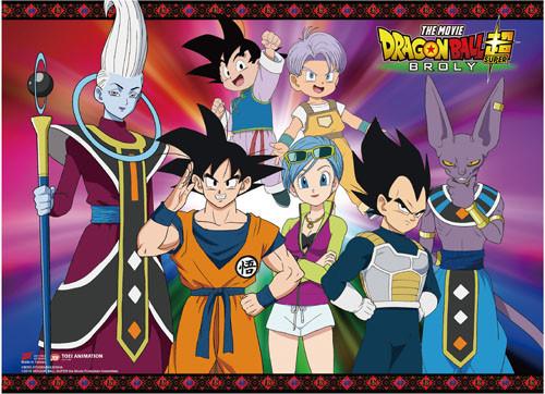 Dragon Ball Super Broly - Goku And Allies As A Group Wall Scroll