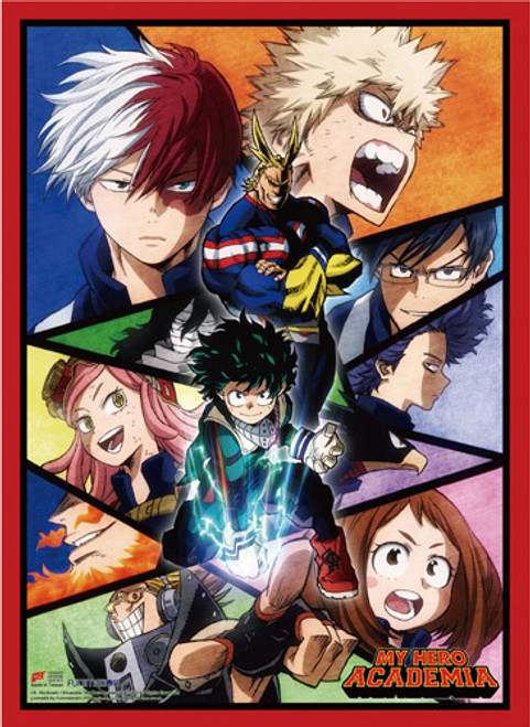 My Hero Academia S2 - Deku And All Might During The Sports Festival Arc Key Art High End Wall Scroll