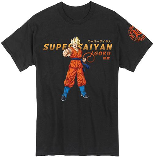 Dragon Ball Super - Super Saiyan Goku Punching T-Shirt