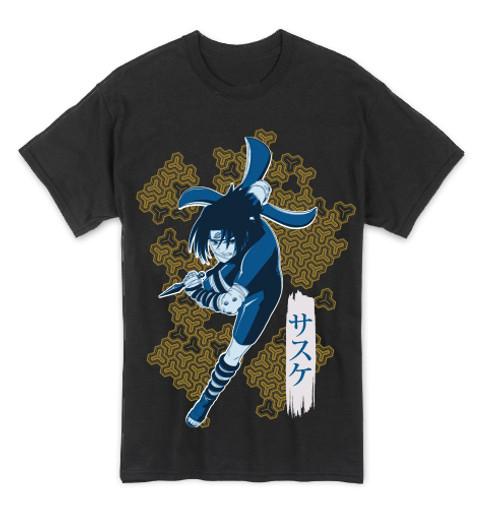 Naruto - Sasuke Attacking T-Shirt