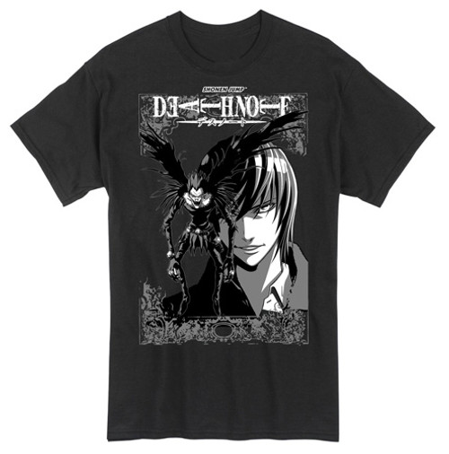 Death Note - Ryuk In Front Of Light T-Shirt