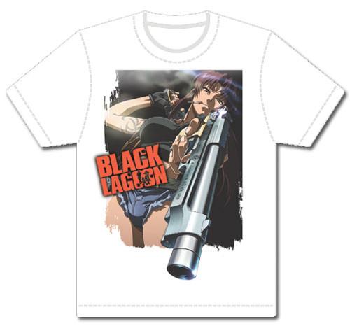 Black Lagoon - Revy Gun Out T-Shirt