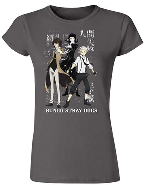 Bungo Stray Dogs - Atsushi, Osamu, And Ryunosuke JRS T-Shirt