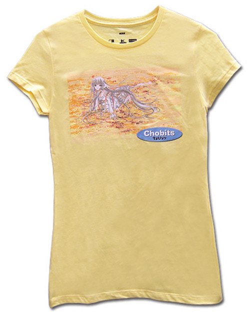Chobits - Chi Laying In Flowers JRS T-Shirt