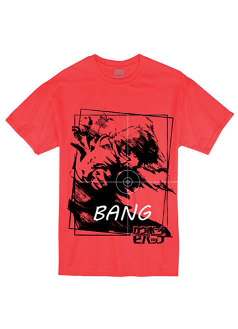 Cowboy Bebop - Spike Targeting His Prey T-Shirt