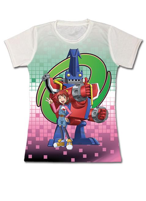Digimon - Balistamon And Angie Waving JRS T-Shirt