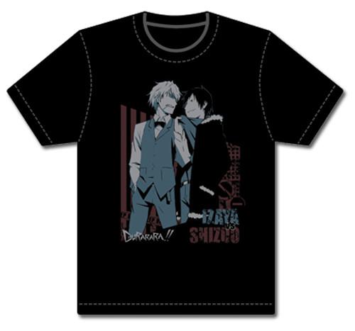 Durarara!! - Shizoo Grabbing Izaya By The Collar T-Shirt