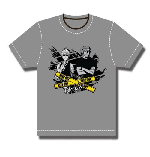 Durarara!! - Shizoo Walking With Simon T-Shirt