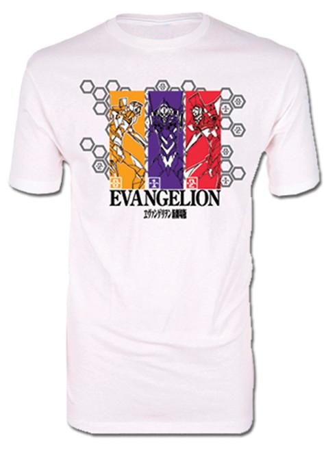 Evangelion - Eva Pilots T-Shirt