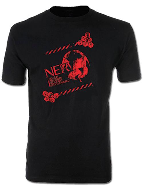 Evangelion 2.0 - Distressed NERV Logo T-Shirt