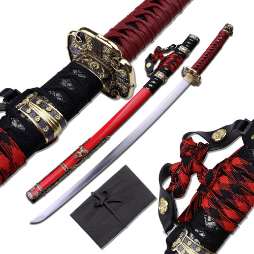 Battle Ready Decorated Sword