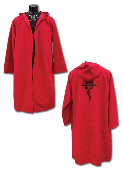 Fullmetal Alchemist Brotherhood - Ed's Bright Red Coat Cosplay Costume