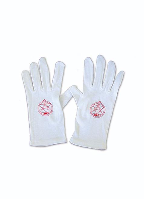 Fullmetal Alchemist - Sebastian's Butler Gloves Cosplay Costume
