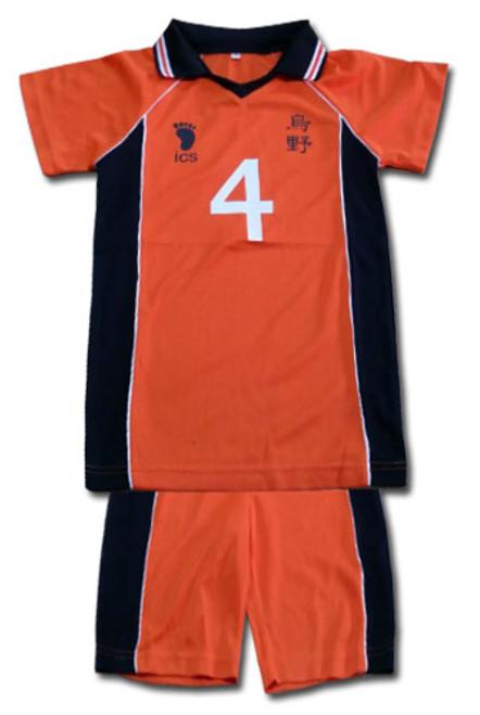 Haikyu!! - Karasuno #4 Volleyball Uniform Cosplay Costume