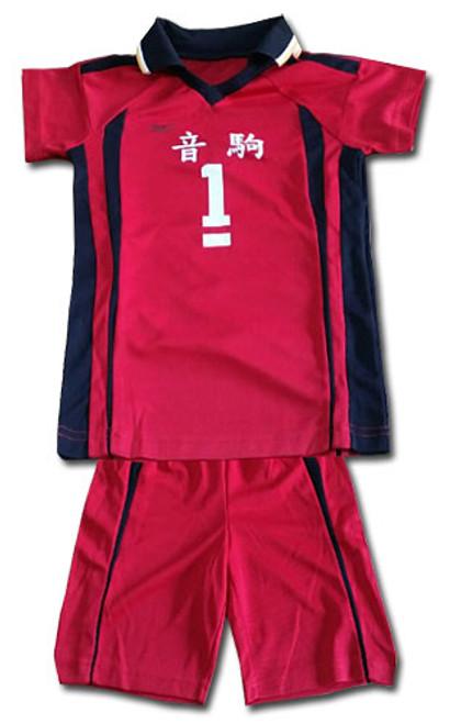 Haikyu!! - Nekoma #1 Volleyball Uniform Cosplay Costume