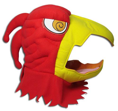 JoJo's Bizarre Adventure - Magician Red's Head Hood Cosplay Costume