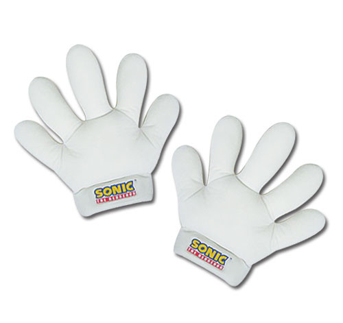 Sonic The Hedgehog - Sonic's Gloves Cosplay Costume