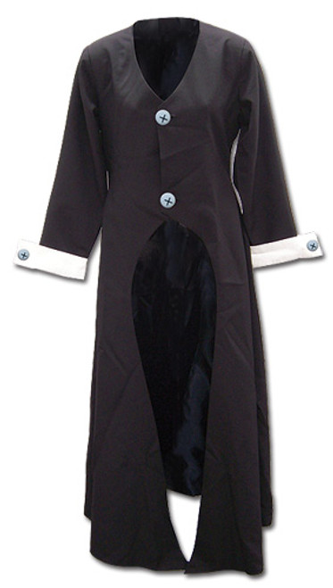 Soul Eater - Maka's Long Black Jacket Cosplay Costume