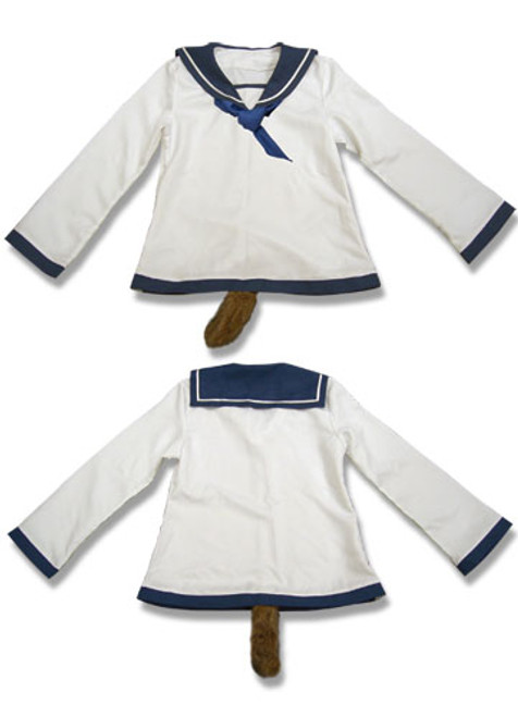 Strike Witches - Yoshika's Uniform Cosplay Costume