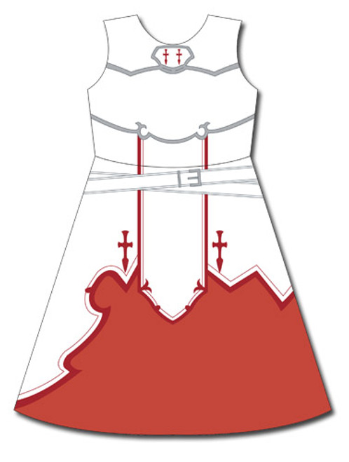 Sword Art Online - Asuna's Uniform Dress Cosplay Costume