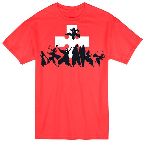 Fire Force - Team Eight Silhouettes T-Shirt
