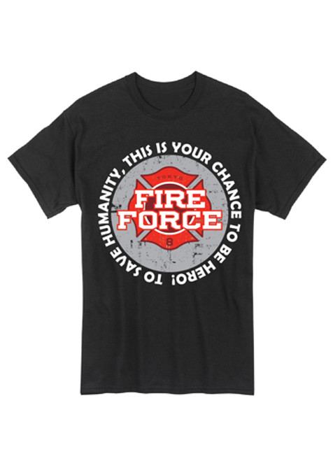 Fire Force - Fire Force Logo T-Shirt
