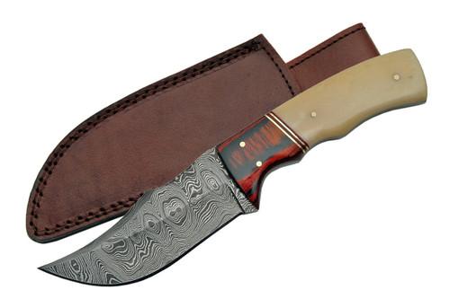 Thicker Damascus Steel Skinner