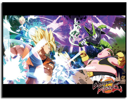 Dragon Ball FighterZ - All Out Brawl Throw Blanket