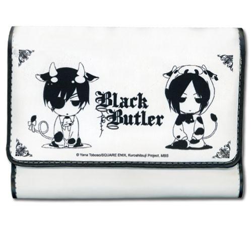 Black Butler Ciel and Sebastian Cows Female Wallet