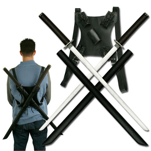 Wearable Dual Swords