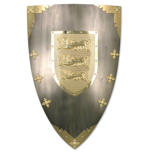 Medieval Lion Shield