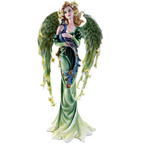 """21.75""""  Bluish and greenish peacock fairy"""