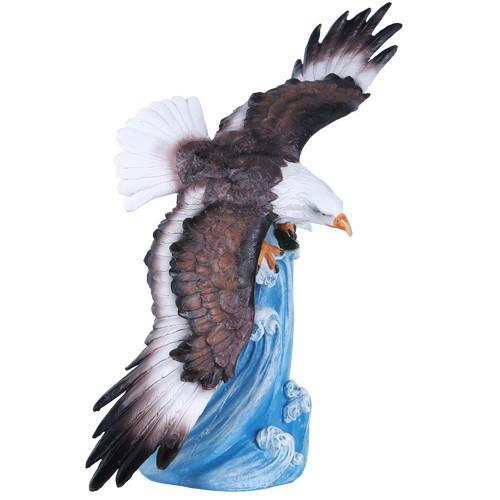 "13.5"" Eagle at Ocean"