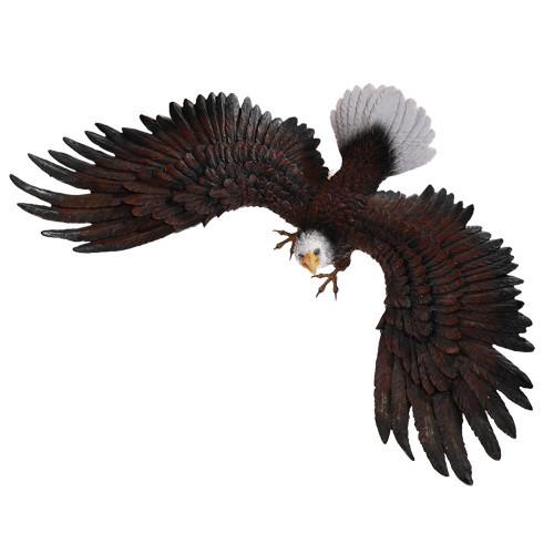 "17.75"" Eagle wall plaque"