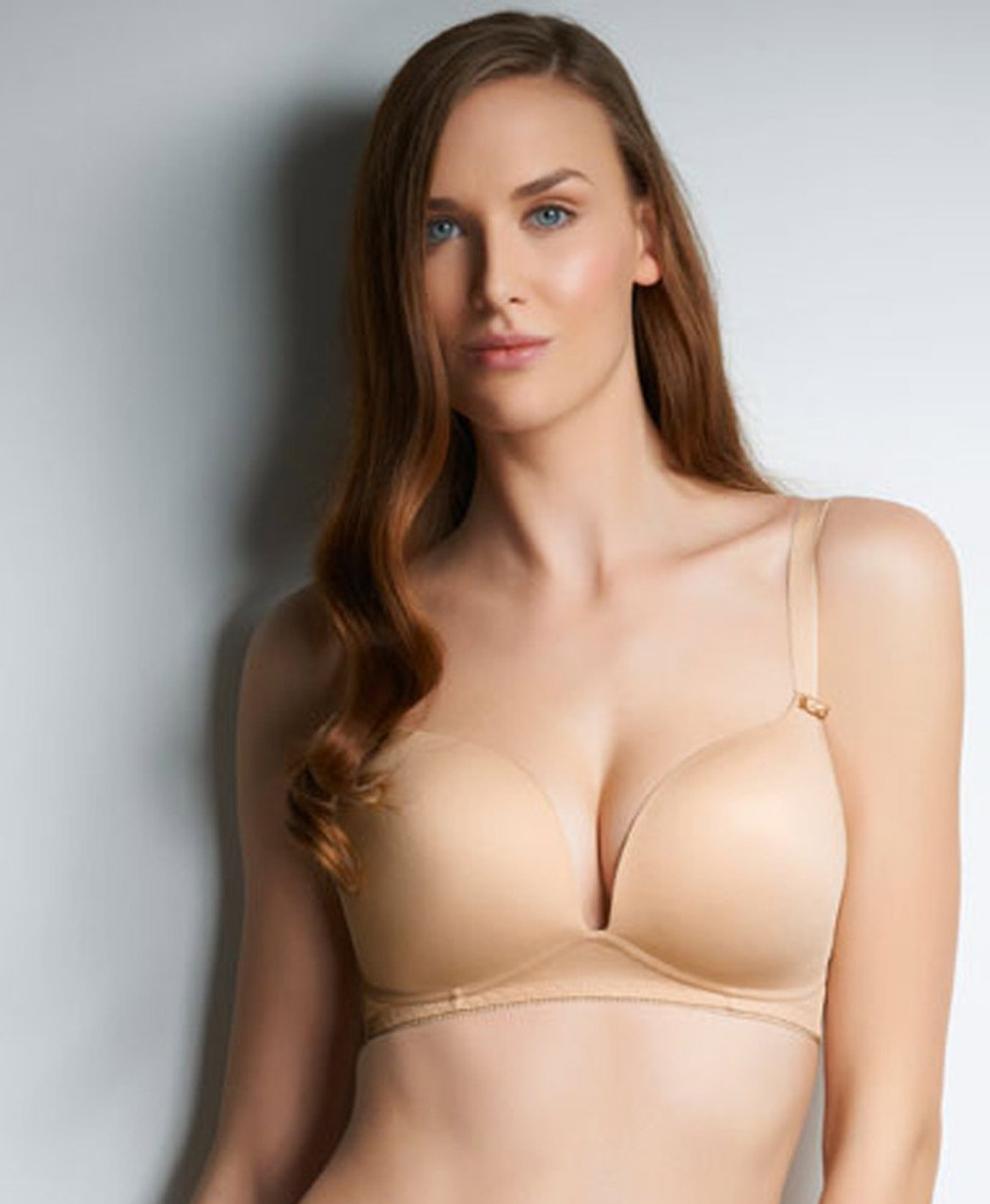 cd240125d2898 Freya Deco Wirefree Moulded Soft Cup Bra in Nude