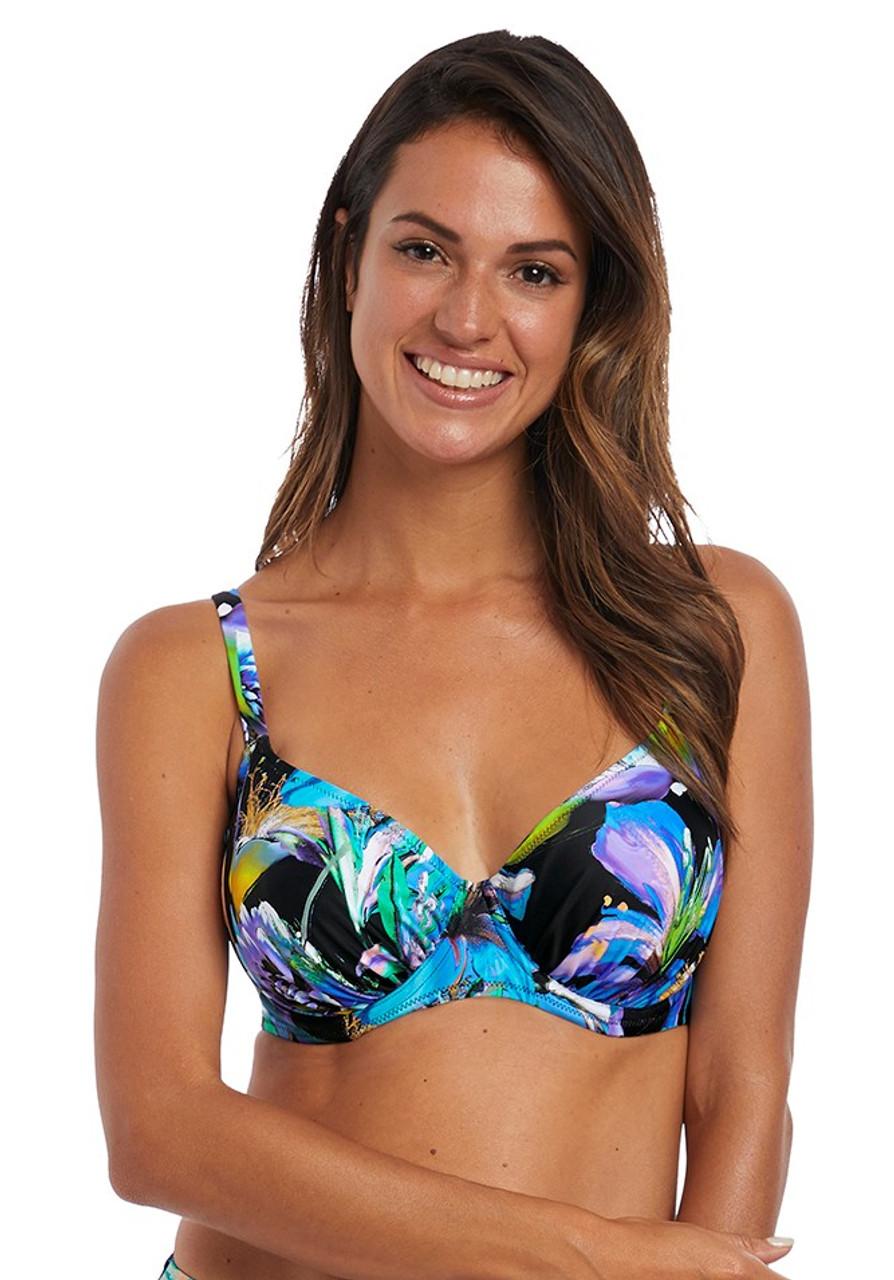 6246b8fcadf Fantasie Paradise Bay Gathered Full Cup Bikini Top (FS6474)