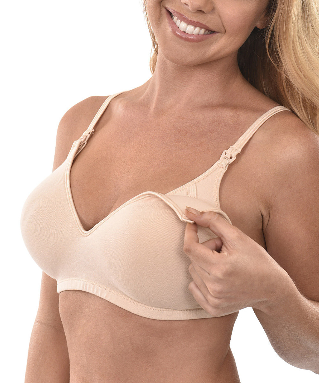 49173545bdd39 Dynabelly Molded Cup Nursing Bra