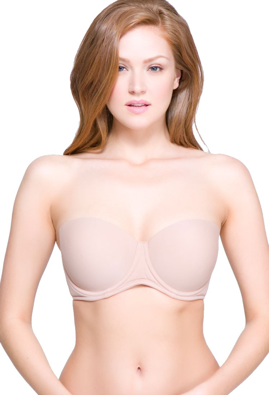 a97d12b28f479 QT Intimates 5-Way Strapless Convertible Underwire Bra
