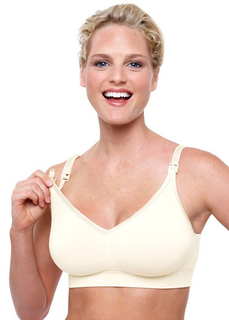 358d249965148 ... Bravado Body Silk Seamless Nursing Bra in Ivory ...