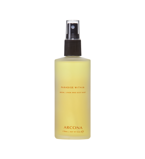 ARCONA Paradise Within Linen, Body and Room Spray